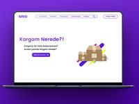 Cargo Company One Page Web Design
