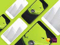 Iphone&Ipad mockups
