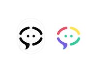 Social advertising logo