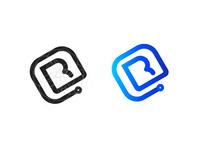 A letter B logo idea