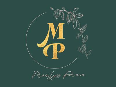 Marilyns Piece Logo branding illustration logo
