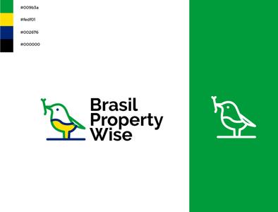 Brasil Property branding real estate logo birds logo birds
