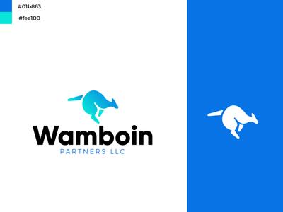 Wamboin Partners vector illustration logo design logo