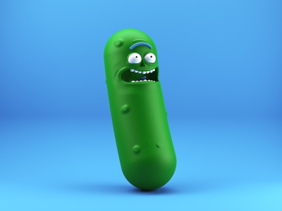 Pickle Rick 3d animation 3d artist rick rick and morty pickle rick modeling 3d art 3d cinema4d