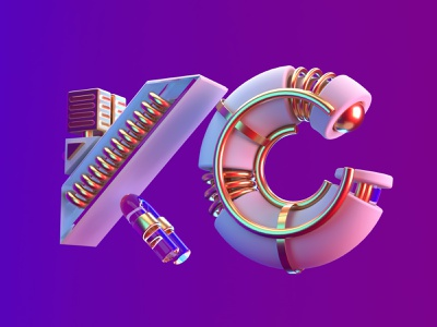 King Creative | KC™ 3d 3d art cinema4d maxonc4d type motion animation design illustration