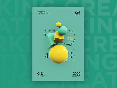 Geometric Experimental poster_02