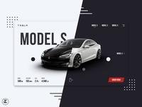 Tesla Model S Splash Page (Animated) aftereffects motion uiux web app ux trends web design motion design animation ui trends ui inspiration tesla model s car website car app car sketch design inspiration ux ui design