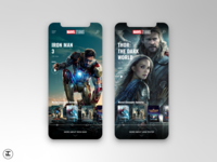 MCU App Concept: Iron Man 3, Thor: The Dark World (Movies #7,8)