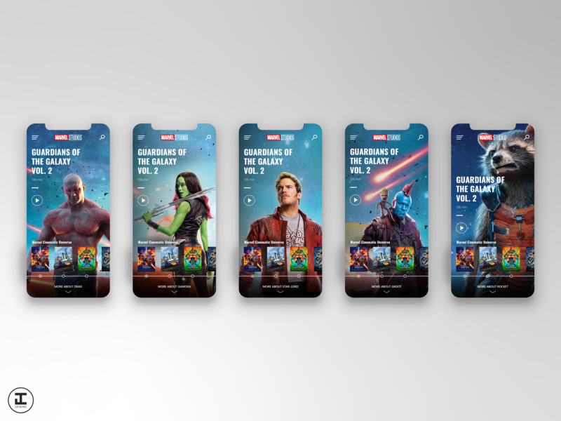 MCU App Concept: Guardians of the Galaxy Vol  2 (#15) by