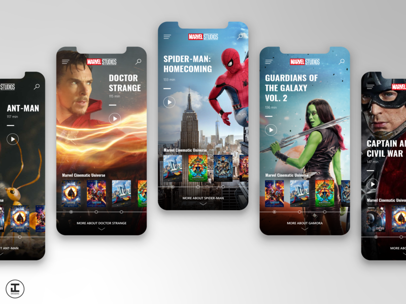 MCU App Concept: Spider-Man: Homecoming (#16) by Jacob