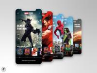 MCU App Concept: Black Panther (#18)