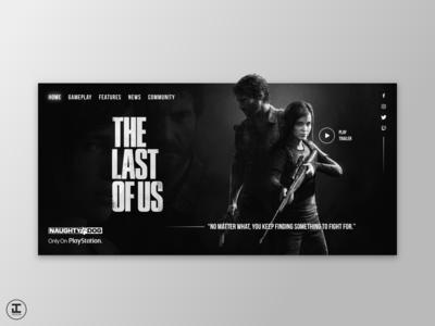 The Last of Us - Website Design Concept