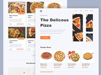 #Exploration | Delicious Pizza Landing Page