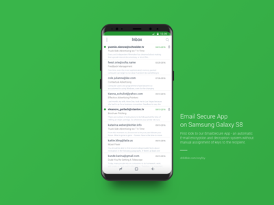 Email Secure App Redesign