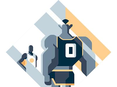 Space Jam - Rivista Ufficiale NBA #100 movie dunk spacejam official nba michael magazine jordan illustration editorial basketball sail ho studio