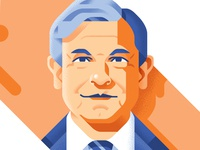 Mexican Elections portraits - Obrador