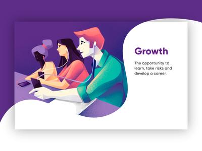 Growth - MSC company values