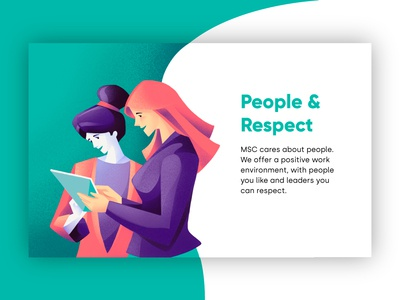 People & Respect - MSC company values proposition