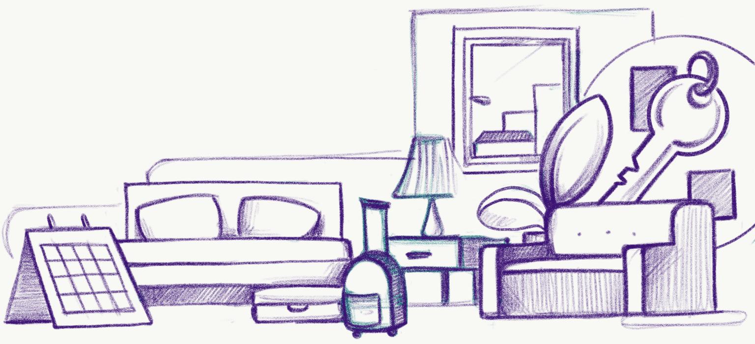 Guido lodging page sketch