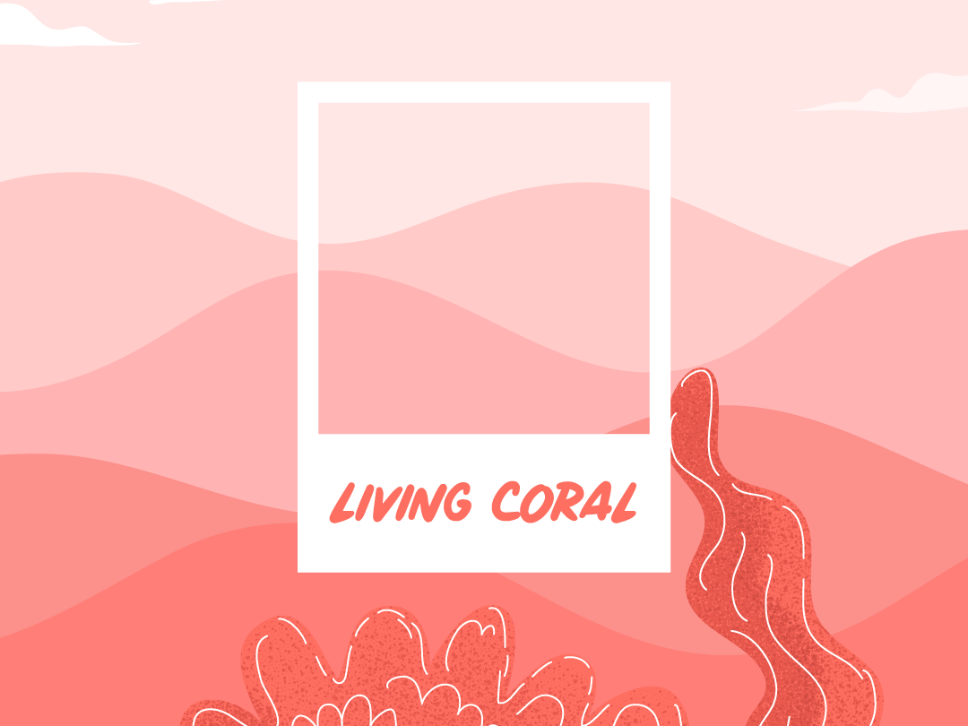 Living coral illustration environmental background art illustration design colors coral pantone pink plants texture ilustracion illustration art design vectorial illustration illustrator digital art vector illustration