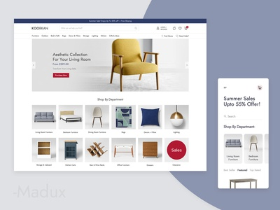 Furniture Shop Design
