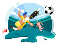 Sports Illustration