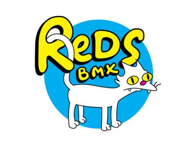 Red's Bike Shop design oklahoma tulsa corporate identity badge minimal modern grid monogram rebrand branding design logo
