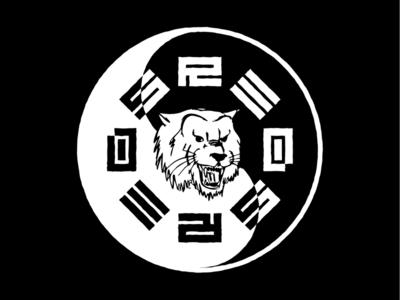 Red's Bike Shop patch design oklahoma tulsa corporate identity badge minimal modern grid monogram rebrand branding design logo