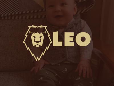 Leo the Lion logo design oklahoma tulsa corporate identity badge minimal modern grid monogram rebrand branding design logo