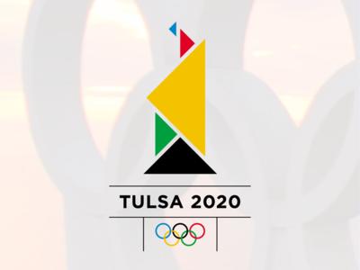 Tulsa 2020 Olympic logo challenge logo design rebrand oklahoma monogram modern minimal logo grid design identity corporate branding badge