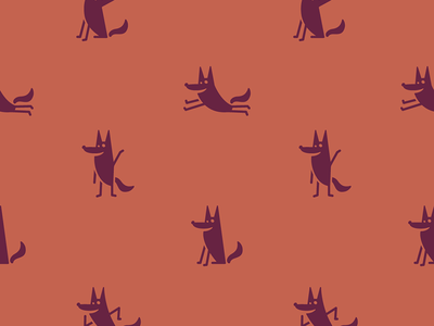 Seeke Creative pattern pattern wolf oklahoma tulsa retro design identity content corporate rebrand brand logo