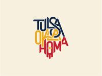 Tulsa Oklahoma custom lettering