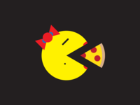 Pizza Ms. Pacman