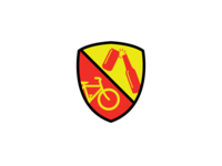 Bikes and beers badge