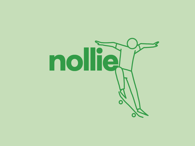 Nollie Skateboard Illustration