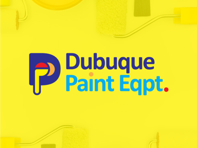 Dubuque Paint Equipment logo redesign