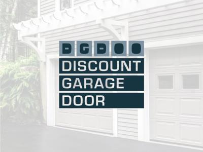 Discount Garage Door logo design