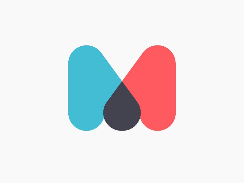M Logo Mark By Aaron Taylor Waldman