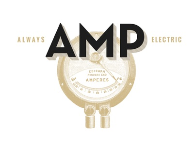 AMP logo treatment