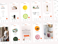 Elaine - Modern Beauty Theme cosmetic food fruits organic practice training timetable shop suplements nutrition yoga healthy living lifestyle healthyfood healthy wellness webdesign screens responsive design mobile
