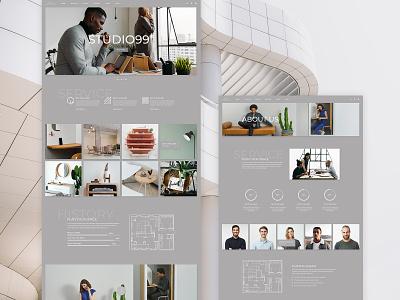 Brdg Architecture Studio architect light gray flats housing living planing inerior furniture studio architecture design website
