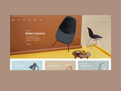Umeå - Furniture Store ideas home wood handmade inerior architect online shop store furniture web website design