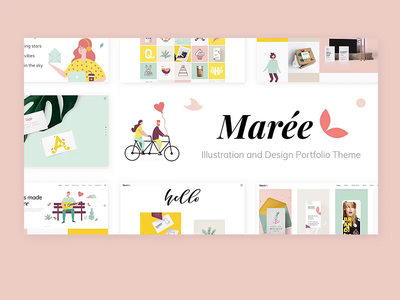 Marée - Illustration and Design Portfolio Theme