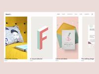 Marée - Illustration and Design Portfolio Theme