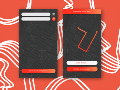 Daily UI Challenge Day 020 Location Tracker