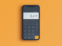 Daily UI 004 - Calculator