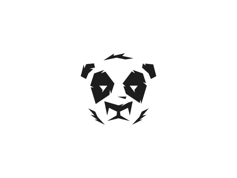 Daily Logo Challenge 03 - Panda panda logo panda adobe illustrator vector 03 daily logo challenge 03 daily logo challenge daily logo branding brand logo design