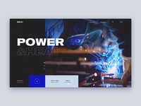 Weld Website Concept