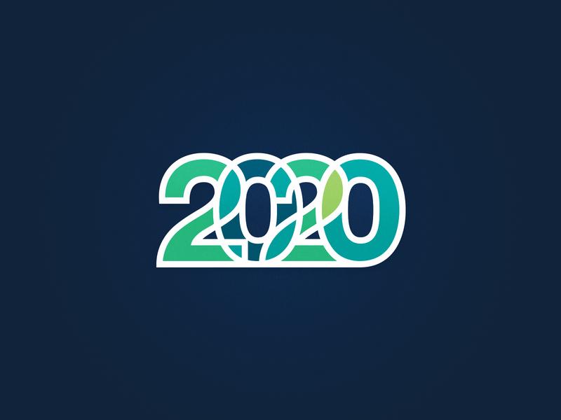 2020 type design illustrator adobe typography branding vector logo 2020