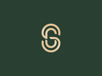 SG monogram symbol mark identity adobe icon vector branding logo